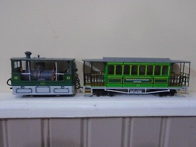 009 hoe steam tram