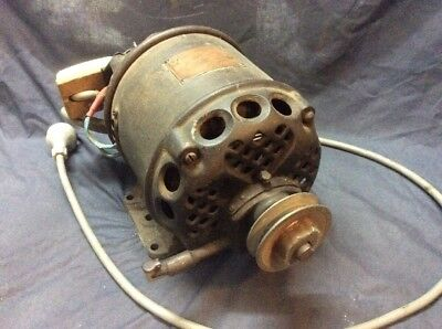 Ornate Collectable Antique Century Electric Motor Industrial Shed