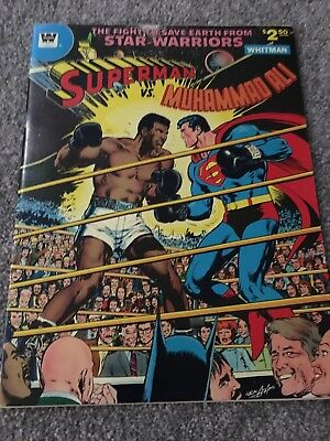 Muhammad Ali Vs Superman Original Comic Great Condition