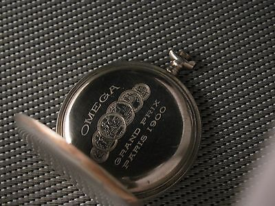 OMEGA SILVER OPEN FACE POCKET WATCH CASE 51 mm.!!