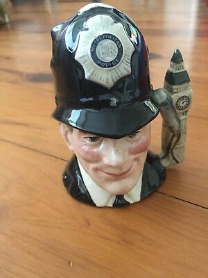 The London Bobby D6762 Character Jug By Royal Doulton