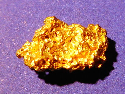 Australian Gold Nugget  ( 0.45 grams ).