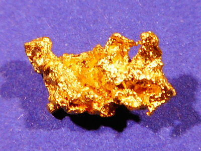 Australian Gold Nugget ( 0.77 grams ).