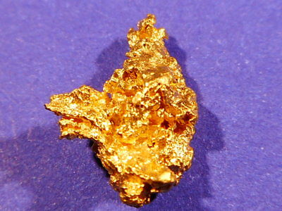 Brilliant Australian Gold Nugget  ( 2.21 grams) .