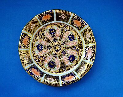 Royal Crown Derby Imari 1128 Saucer  Cypher Mark for 1930