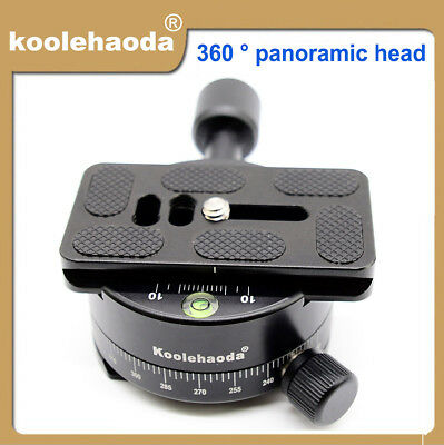 360° Panoramic Head Clamp With PU70 Quick Release Plate For Camera.(XPC-1)