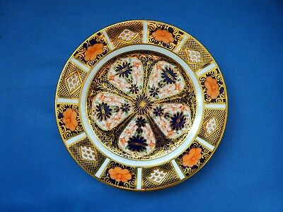 Royal Crown Derby Imari 1128 Side Plate  Cypher Mark for 1929