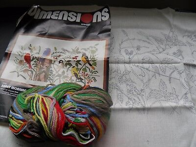 Dimensions embroidery kit