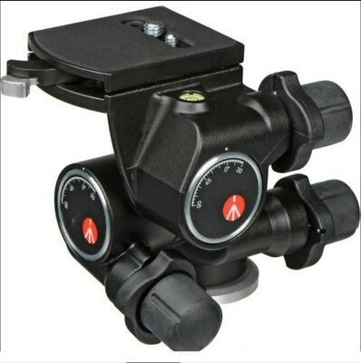 Manfrotto 410 Junior Geared Head - Supports 11 lbs (5kg) - UK Seller