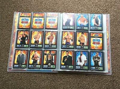 TOPPS Slam Attax Wrestling Trading Card Game