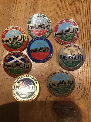 Hunt Badge Countryside March Badges X8 Could Be A Full Set Hunting