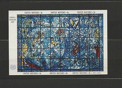 ONU - UNO - NATIONS UNIES - UNITED NATIONS - NEW YORK - ** - MNH - Bloc Chagall