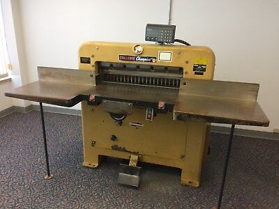 Challenge Champion 305 MC Commercial Paper Cutter $1495.00 (Used)