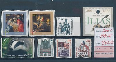 LH13097 Germany 2001 nice lot of stamps MNH face value 7,42 EUR