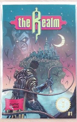 The Realm #1 Comic Quest Variant Ltd To 500 Copies Castlevania