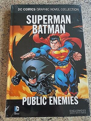 DC COMICS GRAPHIC NOVEL Volume 10 Superman Batman PublicEnemies - Eaglemoss