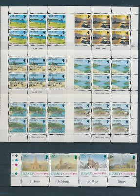 XA79685 Jersey churches landscapes sheets MNH