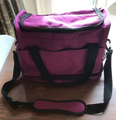 Purple Beauty/Hairdressing Bag