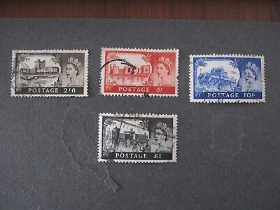 Great Britain Stamps - Castles