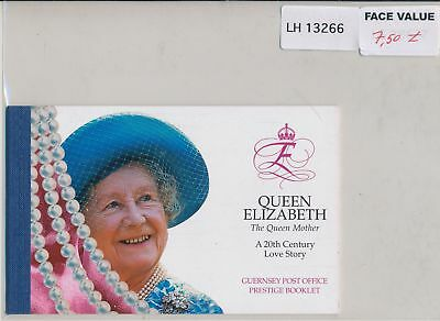 LH13266 Guernsey the queen mother prestige MNH face 7,5£