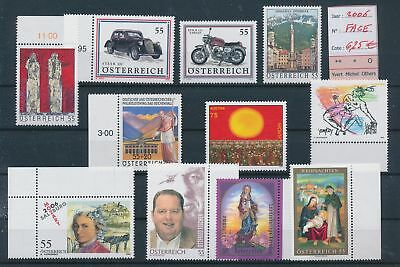 LH13166 Austria 2006 nice lot of stamps MNH face value 6,25 EUR