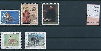 LH13174 Austria 2013 nice lot of stamps MNH face value 6,3 EUR
