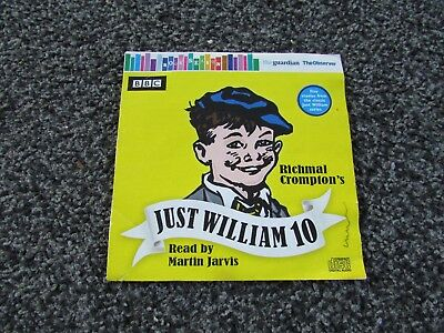 Just William 10 Richmal Crompton read by Martin Jarvis  Audio CD