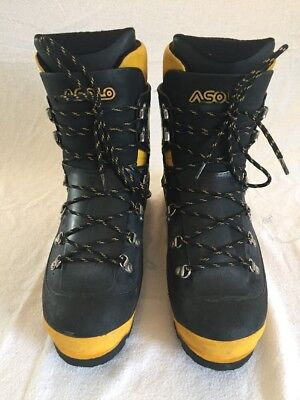Asolo AFS 8000 Ottomila High Altitude Mountaineering Boots Size 9