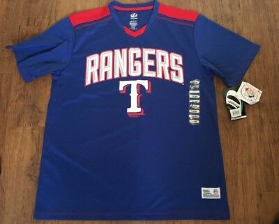 Texas Rangers New With Tags Dynasty Shirt Adult Large MLB