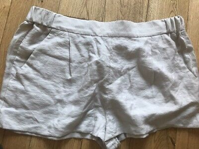 All Saints Obel Shorts In Oyster Colour Bnwt Size 14