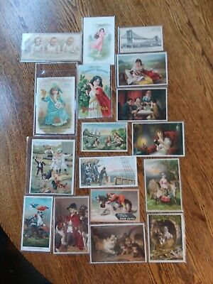 Victorian advertising trade cards