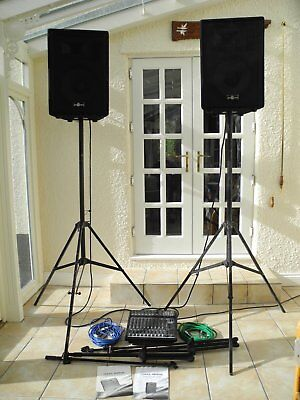 Complete Gear4music PA system