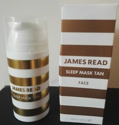 James Read Gradual Tan Sleep Mask Tan Body 100 ml Pump Edition BNIB RRP £25 50ml