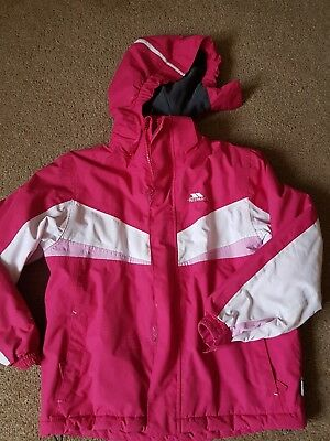 Girls ski jacket/winter coat age 7-8