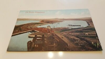 1 xpostcard of the docks grangemouth