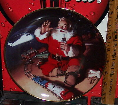 Franklin Mint Haddon Sunbloom A Coke And A Smile Collector's Plate