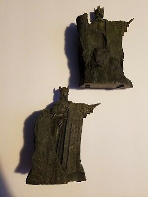 Lord of the Rings Fellowship Argonath Collectible Bookends by Sideshow Weta 2002
