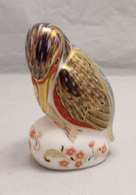 Royal Crown Derby Kingfisher Paperweight