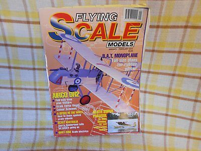 Flying Scale Model Aircraft Plans