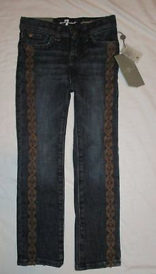 7 for all mankind Girls Size 5 Straight Leg Jeans