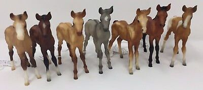 Breyer Classics Mustang Foals Conga of 7!, many from Black Horse Ranch