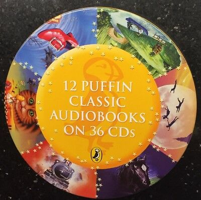 Puffin Classic Audiobooks - 12 favourite children's books on 36 CDs