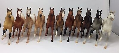 Breyer Classics Black Beauty Conga of 11!!!, many from Black Horse Ranch