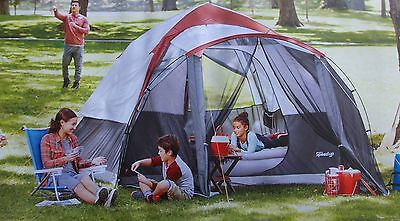 Embark 6 Person Tent with Screen Porch - NEW 3 Minute Setup Rainfly & NEW Embark Instant Cabin 10 PERSON Tent with Rainfly 3 Minute ...