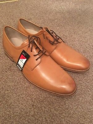 Men's Marks And Spencer Tan Leather Gibson Uk 9.5