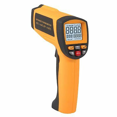 Digital Infrared IR Thermometer with 50 Is To 1 Distance Spot Ratio and (V2U)