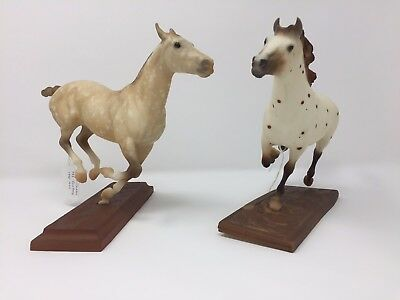 Breyer Classics Polo Pony and Hobo Conga of