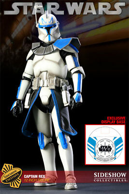 """Sideshow Collectibles Exclusive Star Wars 12"""" Captain Rex Phase I"""