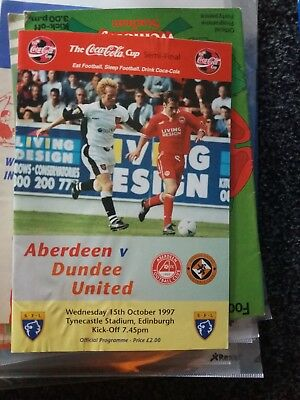 Aberdeen v dundee utd league cup semi final 1997