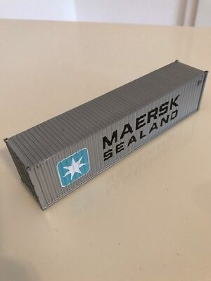 Walthers Container 40ft Maersk Sealand 1:87